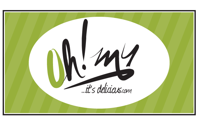 Oh My It's Delicious logo